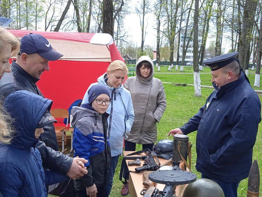 9 мая в Климовичах